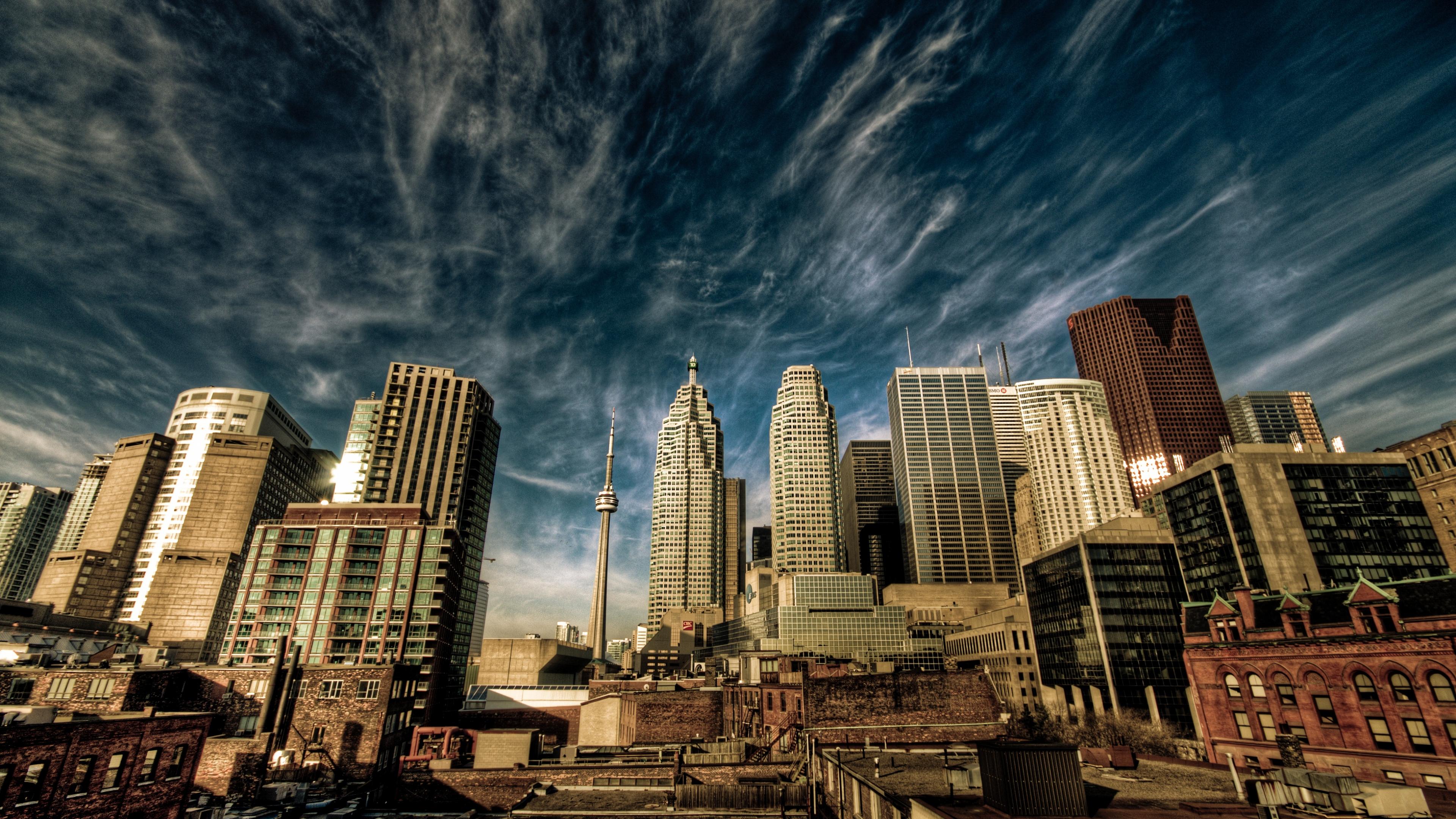 city_toronto_canada_sky_clouds_houses_58869_3840x2160